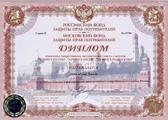 Rusya pazarındaki tüketimin modern formasyonuna aktif katılım diploması