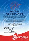 Best Tour Operator – 2013