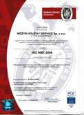 ISO 9001:2008 CERTIFICATE Certificate given to the company wezyr for the required standards and by the scope of services by the norm of iso 9001:2008.  - 2010